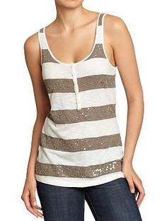 Stripes and Shimmer?!? My favorite <3
