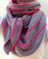 Ravelry: Nangou pattern by Melanie Berg - neck shawl