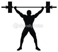Olympic Weight Lifting Clip Art  - Run To Stay In Shape WebMuscleFitness.com