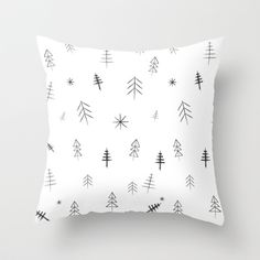 Design your everyday with black white throw pillows you'll love for your couch or bed. Discover patterns and designs from independent artists across the world.