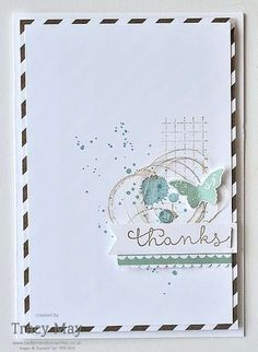 Create with Connie & Mary Colour Challenge Card using Stampin' Up! Products Tracy May _CCMC402