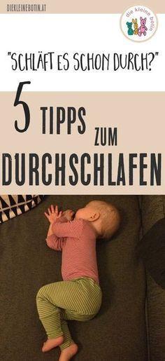 Durchschlafen. Endlich. Baby, sei gnädig. Mit diesen 5 Tipps kann es besser werden. Nicht von heute auf morgen und nicht beständig, aber mit kleinen Schritten in Richtung erholsamen Schlaf.