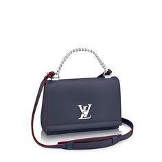 939fffabbb Cabas Lockme Lockme - Sacs à main de luxe Femme   LOUIS VUITTON Cuir De Veau