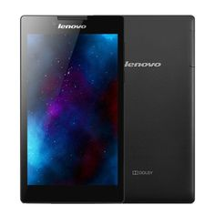 [$103.00] Lenovo Tab2 A7-30HC 7 inch IPS Touchscreen Android 4.4 Tablet, MTK8382M Quad Core 1.3GHz, RAM: 1GB ROM: 16GB, Support 3G Phone Call, BT, WiFi, GPS(Black)