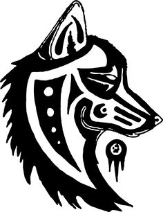 Image Vectorielle Gratuite: Wolf, Totem, Symbole, Tribal - Image gratuite sur Pixabay - 389446