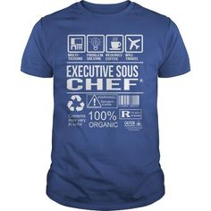 Awesome Tee For Executive Sous Chef T-Shirts, Hoodies (22.99$ ==► Order Here!)