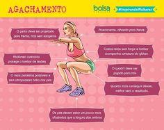 O agachamento é considerado um dos exercícios mais poderosos para definir e aumentar o bumbum e as pernas e, por isso, se tornou uma das principais apostas nas academias. O problema é que, apesar de a execução parecer simples, existem alguns cuidados que devem ser tomados para realizar o exercício da forma corret