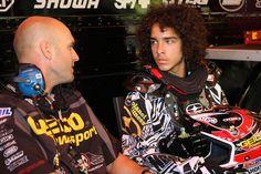 Kristian Kibby and Blake Wharton - Vital MX Pit Bits: Millville 2008 - Motocross Pictures - Vital MX