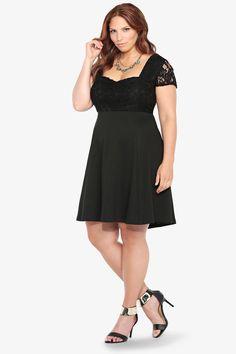 Mangolino Dress - Büyük Beden Elbise MD3801 38-60