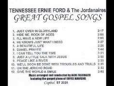 TENNESSEE ERNIE FORD & The Jordanaires:  GREAT GOSPEL SONGS Tennessee Ernie Ford, Grace Youtube, Easy Listening Music, Jazz Cafe, Country Videos, Old Rugged Cross, Sounds Good To Me, Song List, Music Mix