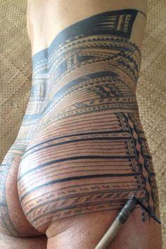 Traditional Samoan tatau Samoan Tattoo designs.