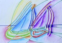 Drawing inspired by Futurism: moving subjects