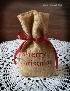 gift card bag or christmas table favor pinterest diy christmas
