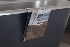 Nickel Pannier Bathroom Accessories, Magazine Rack, Improve Yourself, Storage, Furniture, Home Decor, Purse Storage, Bathroom Fixtures, Decoration Home