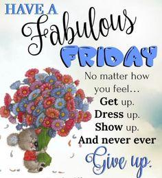 Happy Friday Inspiration