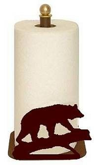 The Big Red Neck Trading Post - Wildlife Decor Countertop Paper Towel Holder, $31.99 (http://www.thebigrednecktradingpost.com/products/wildlife-decor-countertop-paper-towel-holder.html)