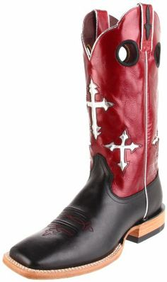 Ariat Men's Ranchero Boot,Black/Deep Red,13 B US - http://authenticboots.com/ariat-mens-ranchero-bootblackdeep-red13-b-us/