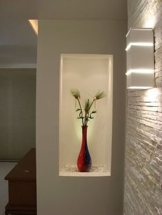 Here I am with another home decor ideas. Today I have prepared for you an amazing collection of Decorative Wall Niches That Will Spice Up Your Home. Niche Design, Door Design, Wall Design, House Design, Living Room Partition, Room Partition Designs, Home Interior Design, Interior And Exterior, Living Room Designs