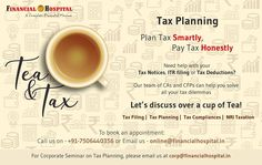 Plan tax smartly pay tax honestly! Our experts are ready to help you with all your queries! Just call on 91-7506440356. #Business #Mumbai
