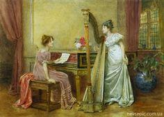 Английский художник George Goodwin Kilburne (1839-1924)