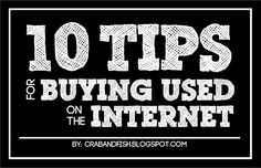 10 Tips for Buying Used Goods on the Internet | crab+fish
