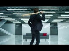 David Tennant in Virgin Media Ad - Bye Bye Buffering. The fact that he pauses to sweep his magical hair back cracked me up!