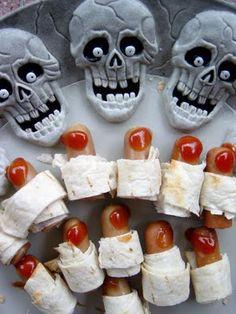 Scary Halloween Food
