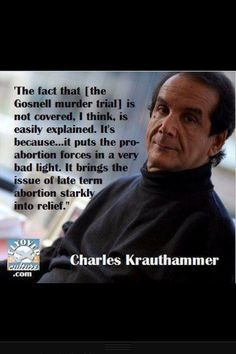Clip Art Things That Matter Charles Krauthammer