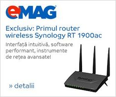 Router Wireless Synology RT1900AC, Dual Band AC, 4 x 10/100/1000 Mbps, USB, SD card - eMAG.ro Cumpara Router Wireless Synology RT1900AC, Dual Band AC, 4 x 10/100/1000 Mbps, USB, SD card… EMAG.RO Sd Card, Software, Usb, Band, Sash, Bands