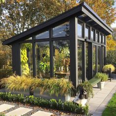 Backyard Greenhouse, Greenhouse Plans, Backyard Landscaping, Outdoor Projects, Garden Projects, Outdoor Spaces, Outdoor Living, Landscape Design, Garden Design