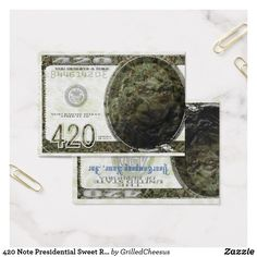 420 Note Presidentia