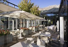 American Bar in Innsbruck Innsbruck, Our World, Hotels And Resorts, Wonderful Places, Rooftop, Bar, Interior Architecture, Indoor, Patio