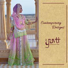 Turning inherited traditions into contemporary tales.   #DesignerClothing #DesignerCollection #Rajputana #Rajput #Poshak #Rajasthan #WomenClothing #IndianWear #Ethnic #Ethereal #Yuvti