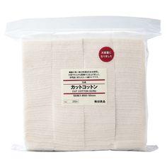 Unbleached Cotton Pads 180 (60x50mm)