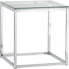 Smart Side Table Chrome 3QF5, CB2