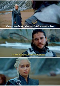 Jon x Dany #got #Jonerys #funny #tumblr