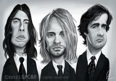 Andres Lopez - Caricature de Nirvana on BOOKFACE ARTISTS http://www.bookface-artists.com/wp-content/gallery/bookface-caricature-session-nirvana/540312_398973150166294_456893124_n.jpg