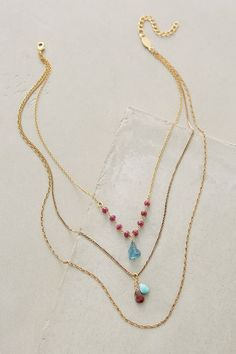 Petronille Layered Necklace - #anthrofave
