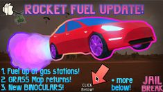 ROCKET FUEL!!! Jailbreak - Roblox