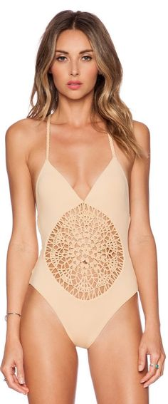 Show off your tan in this Frankie's Bikini Poppy Swimsuit this Summer!