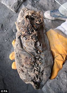 Worlds oldest shoe found in Armenia - cave...... 5,500 years ago