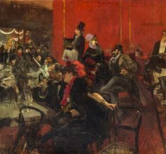 Giovanni Boldini - Moulin Rouge by Irina