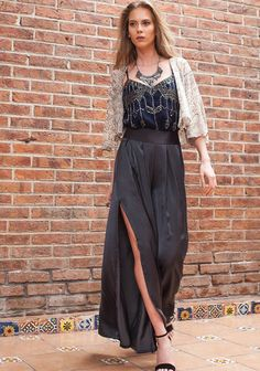 Jump In Pleated Satin Pants