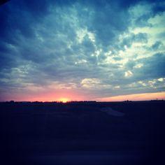 Kansas Evening Skies.
