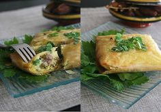 Recette Brick à la viande de la cuisine Tunisienne