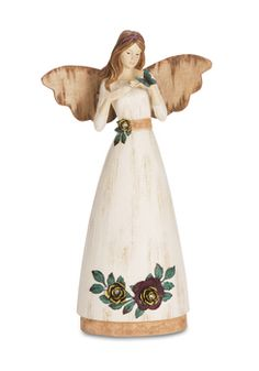 """Friend, 9"""" Angel with Butterfly - Simple Spirits - Pavilion Gift Company"""