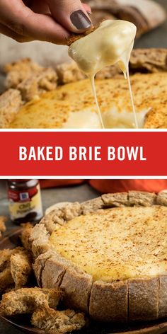 This creamy baked Brie recipe is sure to be a crowd-pleaser at this year's holiday party. With just a few ingredients, it's an easy appetizer that guests will love.