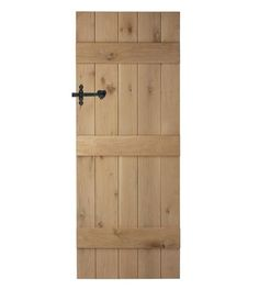 Eeeeck I think we may have decided on these beauts as our new internal doors 😍 Internal Cottage Doors, Internal Doors, Oak Doors, Wooden Doors, Ikea Kitchen Storage, Barn Door Window, Shed Doors, Cabin Doors, Entrance Doors