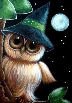 THE WITCH BABY OWL 1