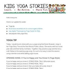 Check out this Mad Mimi newsletter Kids Yoga Poses, Yoga For Kids, Animal Yoga, Childrens Yoga, Games For Fun, Yoga Tips, Kids Cards, Have Fun, Mad